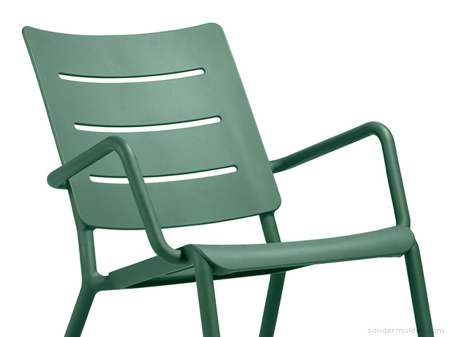 OUTO outdoor furniture by Sander Mulder for TOOU